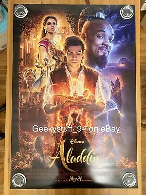 Aladdin DS Theatrical Movie Poster 27x40