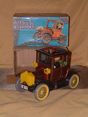 Vintage Nomura First Edition Of Grandpa's Classic Car. Fully Working W/box. Nice
