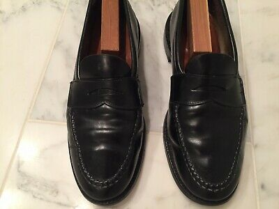 52e5b9744cccb ALDEN   BROOKS Brothers Mens LHS Shell Cordovan Black Loafer