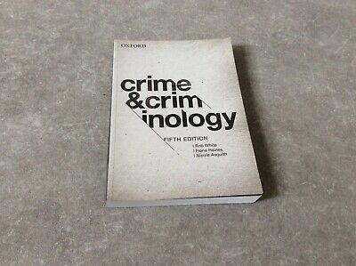 Like New Crime and Criminology Textbook