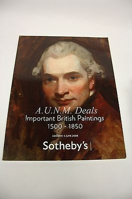 Sotheby's Important British Paintings 1500-1850 London 5 June 2008 #LO8122