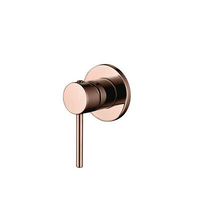 Brushed Rose Gold Shower Wall Basin Mixer Bathroom Tapware