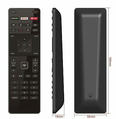New Remote XRT122 Replacement for Vizio Smart TV with Amazon/Netflix/iHeart Key