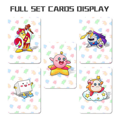 5pcs Full Set PVC NFC Game Card For Kirby Star Allies Switch