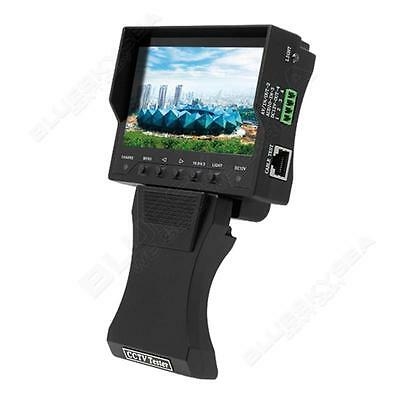 """Foldable 4.3"""" TFT LCD Audio Video Security CCTV Camera Tester Monitor 12V Output"""