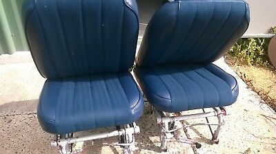Piper Pa28 Plane Aircraft Height Adjustable Front Seats Pair