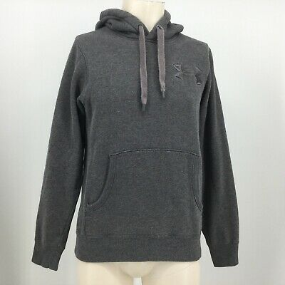 b5d4a417 UNDER ARMOUR STORM 1 Gray Hooded Sweatshirt Mens Small Excellent ...