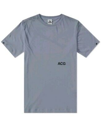 best website 90fd1 9b541 Nike NikeLab x ACG Variable T-Shirt Top Cool Grey Mens Size XL 923951 065