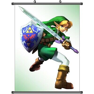 4337 The Legend of Zelda no Densetsu Game Home Decor Poster Wall Scroll A