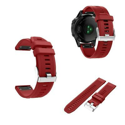 Soft Silicone Watch Band Wrist Strap Replacement For Garmin Fenix 5 OK