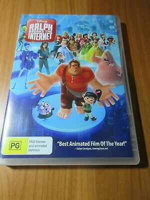 Ralph Breaks The Internet (DVD, 2019) region 4 like new watched once free post