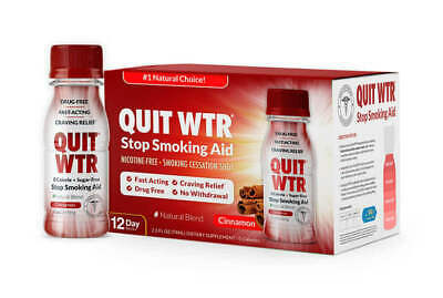 Quit WTR / Long Lasting Craving Relief / 0 Calories/Safe, Satisfying & Effective
