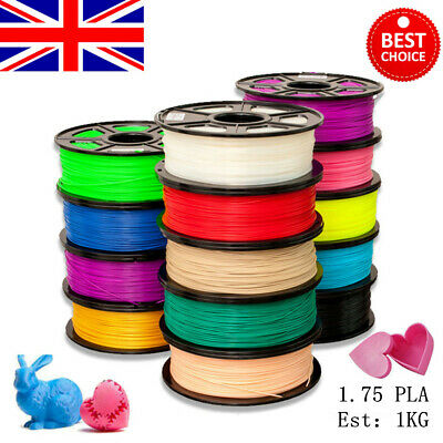 3D Printer Filament PLA - 1.75mm 1 Roll 350m Various Colours Available