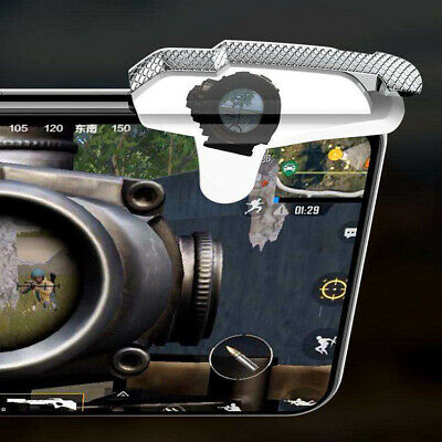 Quality PUBG L1R1 Game Trigger Fire Button Smart Phone Mobile Shooter Controller