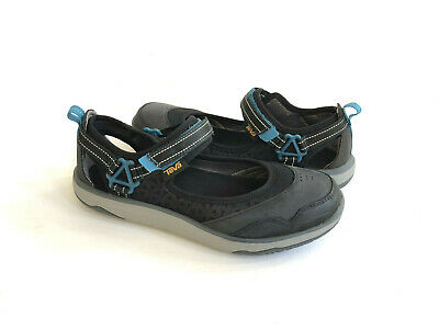 9074caaf8fe9 Teva Women Terra-Float Travel Mj Black Strapy Shoe Us 8.5   Eu 39.5
