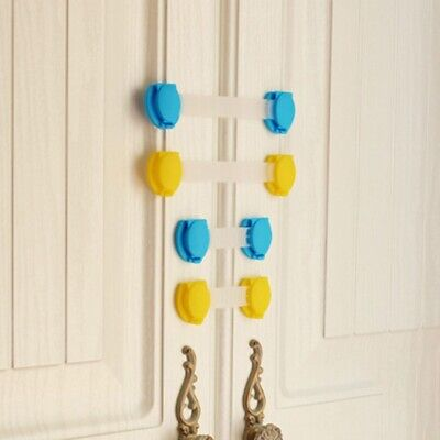 2pcs Child Infant Baby Kid Safety Drawer Door Cabinet Safety Lock For Baby