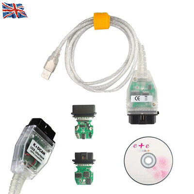 1pcs For BMW INPA Ediabas NCS K+DCAN OBD2 USB Cable FTDI FT232RL Diagnostic Tool