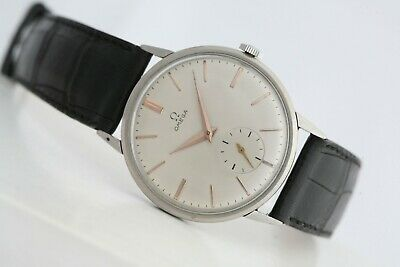 Omega 30! Vintage iconic watch! Oversize 37mm steel case! Stunning dial!