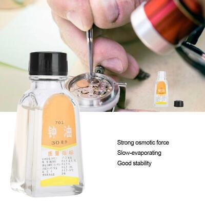 30ml Quality Watch Oil Perfect For Pocketwatch All Watches Cleaning Repair Tool