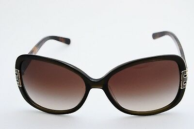 dae2b6931713 Tory Burch Ty7022 Oversized Butterfly Sunglasses 1109/13 Olive 59-17-130 New