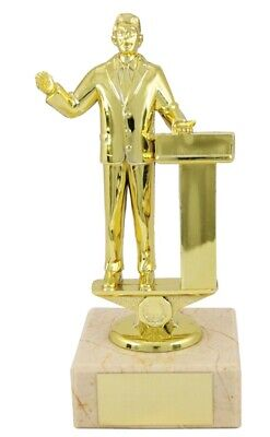Oh Poop Fun Achievement Trophies Loser Awards 90mm high FREE Engraving