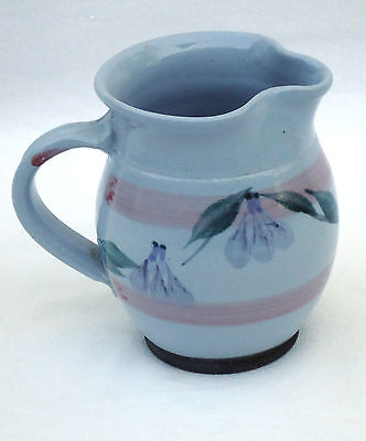 Lovely Vintage Country Style Australian Pottery 400ml Milk Gravy Jug  *Numbered
