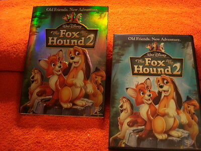 The Fox And The Hound 2 (Disney DVD) Includes Outer Sleave