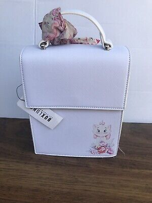 db1714ce64a DISNEY LOUNGEFLY THE Aristocats Marie Handbag Boxlunch Exclusive NWT ...