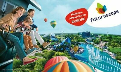 Sejour Futuroscope   2 Adultes + 1 Enfant  1 Nuit + Spectacle Nocturne  Vivabox