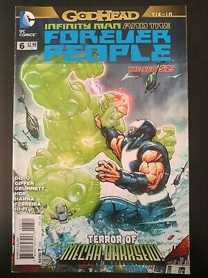 Universe Comics  CB5114 Infinity Man and the Forever People #1 D.C
