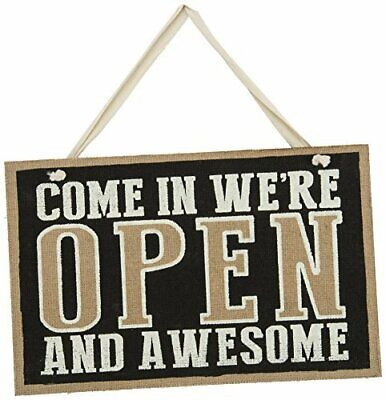 New Open Closed Sign Reversible Sign Wood with Smooth Sanded Edges Top Quality