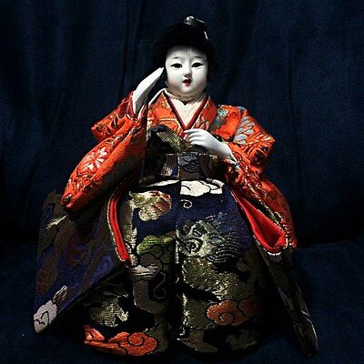 Vintage Japanese Doll Figurine Beautiful Traditional Collectibles Statue