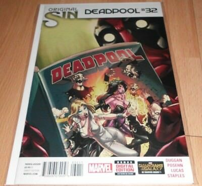 Deadpool (2012 3rd Series) #32...Published Sep 2014 by Marvel