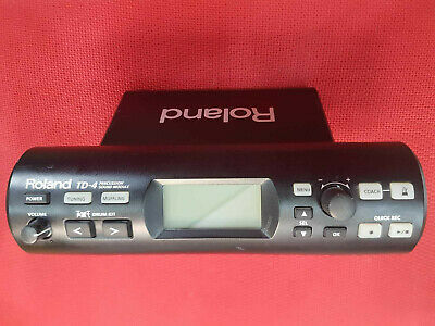Roland TD-4 Percussion Sound Module with Power Supply and Cable
