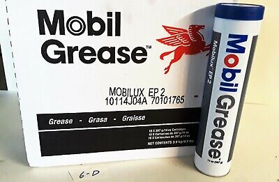 Case of 10- Mobile Premium Grease Mobilux EP2 14.1 Ounce Tubes
