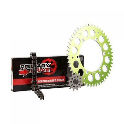 Primary Drive Alloy Kit & X-Ring Chain Green Rear Sprocket Part #1097570225
