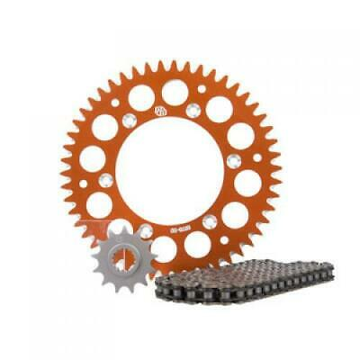 Primary Drive Alloy Kit & X-Ring Chain Orange Rear Sprocket Part #1097570227