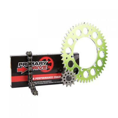 Primary Drive Alloy Kit & O-Ring Chain Green Rear Sprocket Part #1097570230