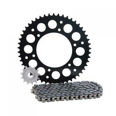 Primary Drive Alloy Kit & X-Ring Chain Black Rear Sprocket Part #1437620248