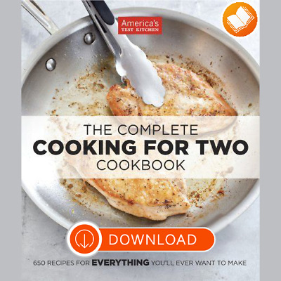 The Complete Cooking for Two Cookbook by America's Test Kitchen (ĔβŐŐĶ/ 2018)✔️