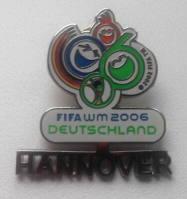 FIFA World Cup 2006 in DEUTSCHLAND. HANNOVER . Pin Badge.