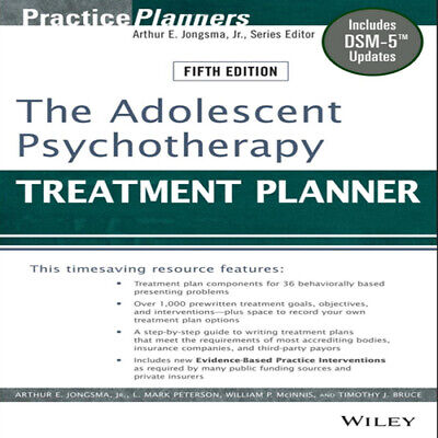 The Adolescent Psychotherapy Treatment Planner: Includes DSM-5 Updates **ĔβŐŐĶ**