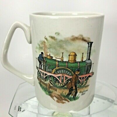 James Kent Old Foley Coffee Mug Classic Trains France & England 18th Century Cup