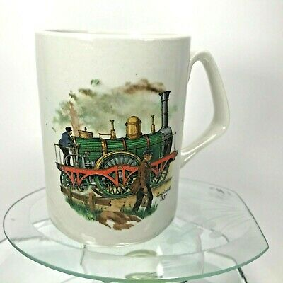 James Kent Old Foley Coffee Mug Classic Trains Canada & England 18th Century Cup