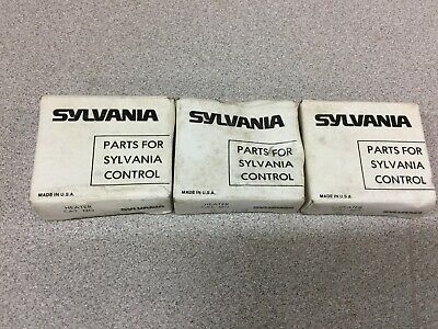 New In Box Lot Of 3 Sylvania Heater Elements 2452