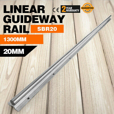1300mm Supported Linear Rail Shaft Linear Slide Routers Aluminium Slide Guide