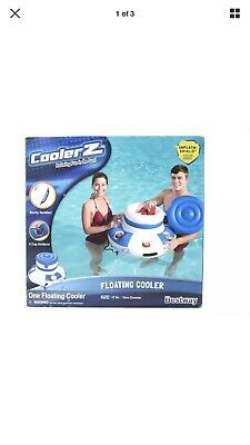 Kayaking, Canoeing & Rafting New 56299ep Floating Lounge Relaxation Island Blue White Intex Pretty And Colorful