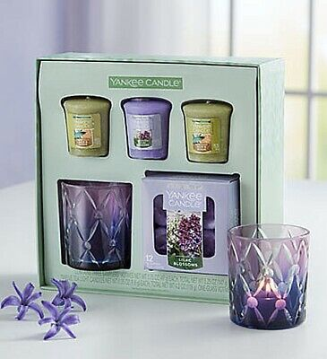 Yankee CandleR Lilac Blossom Gift Set Lovely Housewarming Birthday Present