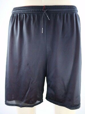 USA Olympic Black & Red Men's Active Reversible Mesh Athletic Shorts Size 30