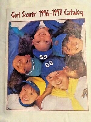 1996 CATALOG Girl Scouts EUC, Gold & Silver Award GIFTS, Uniforms Badges Jewelry